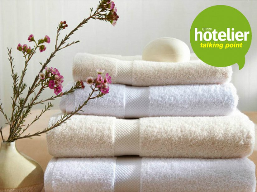 Picture of towels and flower